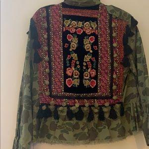 Zara military jacket
